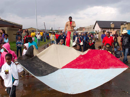 The Soweto Street Festival, photo by Terry Kurgan