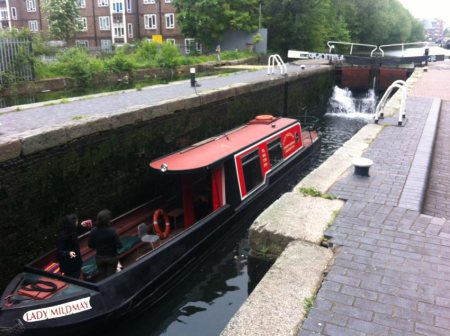 Narrow Boat on the Regent's Cancal