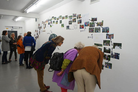 Exhibition at Kunstverein Springhornhof, Neuenkirchen