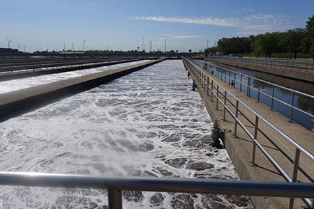 Stickney Wastewater Treatment Plant