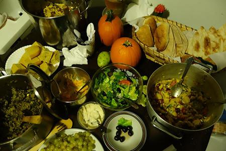Communal dinner at FILTER Detroit, Hamtramck