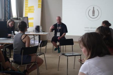 Working with Uwe Lübbermann